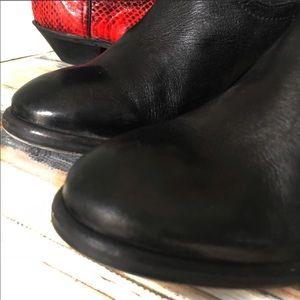 Sam Edelman Shoes - SAM EDELMAN BLACK WESTERN STYLE COWBOY BOOT 8.5